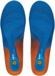 Sidas Cushioning GEL 3D Einlegesohle Blau / Orange | Größe EU 35-36 |  Schuh-Z