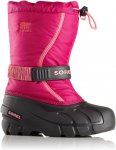 Sorel Kids Flurry Pink, EU 34 -Farbe Deep Blush -Tropic Pink, 34