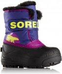 Sorel Kids Snow Commander Lila/Violett, EU 21 -Farbe Grape Juice -Bright Plum, 2