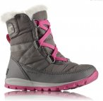 Sorel Youth Whitney Short Lace Grau / Pink | Größe EU 38 | Kinder