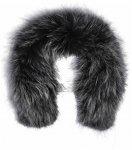 Sportalm W Natural Fur 1 Schwarz | Größe One Size | Damen Schals & Halstücher