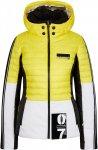 Sportalm W Ski Jacket 5 Colorblock / Gelb / Weiß | Größe 46 | Damen Regenjack