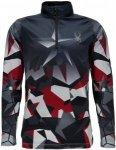 Spyder Boys Limitless 1/4 Zip Dry WEB T-Neck | Kinder Langarm-Shirt