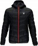 Spyder M Geared Hoody Synthetic Down Jacket Herren   Schwarz   S   +S