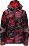 Spyder Geared Hoody Synthetic Down Jacket Rot, Female Daunen Mens -Farbe Red Cam