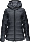 Spyder Womens Solitude Hoody Down Jacket Schwarz, S, Damen Daunenjacke ▶ %SALE
