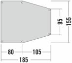 Tatonka Apsidenunterlage 2 Grau, One Size,Zeltunterlage