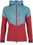Ternua W Ultar Jacket Blau / Pink | Damen Isolationsjacke