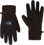 The North Face W Denali Etip Glove Schwarz | Größe XS | Damen Fingerhandschuh