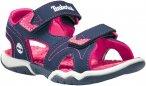 Timberland Kids Adventure Seeker 2-Strap Sandal Blau   Größe EU 21   Kinder Sa