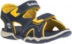Timberland Kids Adventure Seeker 2-Strap Sandal Blau, EU 26 -Farbe Navy -Yellow,