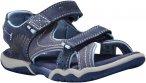 Timberland Kids Park Hopper 2-Strap Sandal Blau   Größe EU 37   Kinder Sandale