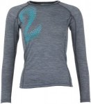 Triple2 Lang Long Sleeve Shirt Schwarz, Female Merino Oberteil, S