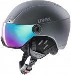 Uvex Hlmt 400 Visor Style Schwarz   Größe 53 - 58 cm    Ski- & Snowboardhelm