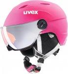 Uvex Junior Visor Pro Pink | Größe 54 - 56 cm |  Ski- & Snowboardhelm