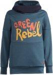 Vaude Kids Awilix Hoody Blau | Größe 110 - 116 | Kinder Sweaters & Hoodies