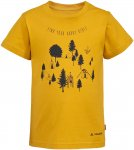 Vaude Kids Lezza T-Shirt Gelb | Größe 110 - 116 |  Kurzarm-Shirt