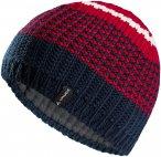 Vaude Melbu Beanie IV Blau / Rot   Größe One Size    Kopfbedeckung