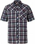 Vaude Bessat Shirt II Kariert, Male Kurzarm-Hemd, XXXL