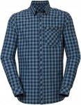 Vaude Heimer Long-Sleeve Shirt II Kariert, Male Langarm-Hemd, XXXL