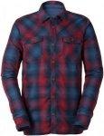 Vaude Hemavan Long-Sleeve Shirt Kariert, Male Daunen Langarm-Hemd, L