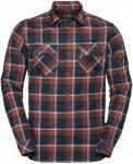 Vaude Mens Jerpen Long-Sleeve Shirt II | Größe M,L,XL,XXL | Herren Langarm-Hem