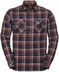 Vaude Jerpen Long-Sleeve Shirt II Kariert, Male Langarm-Hemd, L