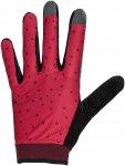Vaude Womens Dyce Gloves II Rot | Größe 5 | Damen Fingerhandschuh