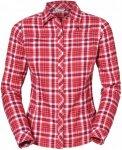 Vaude Neshan Shirt III Kariert, Female Langarm-Hemd, 34