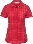 Vaude Womens Seiland Shirt, Strawberry | Damen Kurzarm-Hemd