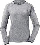 Vaude Womens Signpost Long-Sleeve Shirt Grau, 44, Damen Langarm-Shirt ▶ %SALE