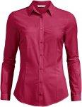 Vaude Womens Skomer Long-Sleeve Shirt Pink | Größe 36 | Damen Langarm-Shirt
