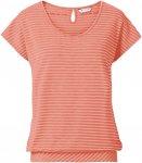 Vaude Womens Skomer T-Shirt II Gestreift / Orange | Größe 42 | Damen