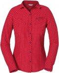 Vaude Solva Long-Sleeve Shirt Kariert, Female Langarm-Hemd, 34
