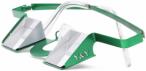 Y&Y Sicherungsbrille Classic Colorful Grün, One Size,Sportbrille