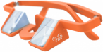 Y&Y Sicherungsbrille Plasfun Orange, One Size,Sportbrille
