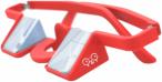 Y&Y Sicherungsbrille Plasfun Rot, One Size,Sportbrille