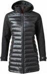 Yeti Womens Eleven Coat Schwarz, S, Damen Freizeitmantel ▶ %SALE 30%