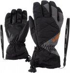 Ziener Junior Agil AS Glove Schwarz | Größe 3.5 |  Fingerhandschuh