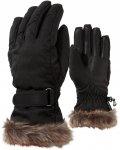 Ziener W KIM Lady Glove Schwarz | Größe 6 | Damen Fingerhandschuh