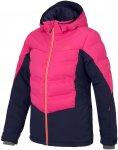 Ziener W Taranis Colorblock / Blau / Pink   Größe 42   Damen Regenjacke