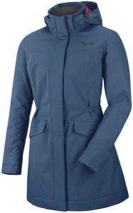 Salewa W Fanes Powertex Tirolwool Jacket Damen | Blau | 42 | +36,38,40,42