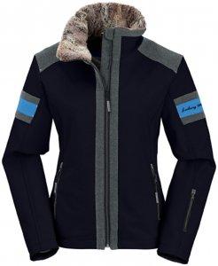 Maul - Hochfügen - Damen Softshell-Ski Jacke - schwarz -36/S