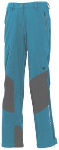 Maul - Monte Leone - Damen Softshellhose - blau kurzgrößen-38/M
