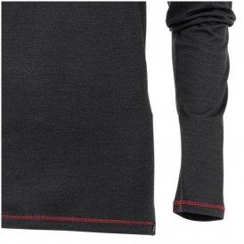 Maul - Sheep Merino  Herren Longshirt Shirt Funktionsshirt - schwarz-S