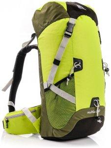 METEOR MAYON AIR VENT 30L - Profi Wanderrucksack 30 Liter - neon grün