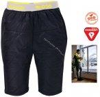 2117 of Sweden - Eco Light padded shorts Djuras Primaloft Winterhose, schwarz XX
