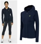 4F - Damen Trainingsjacke, Sportjacke - navy 40/L