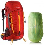Black Crevice Outdoor Rucksack, 60 Liter, rot