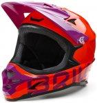 Briko - Downhill Helm Fahrradhelm MTB, lila orange M